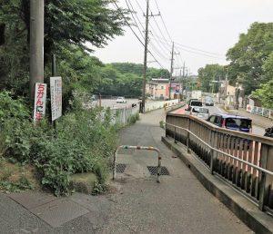 水無月園から県道52号線