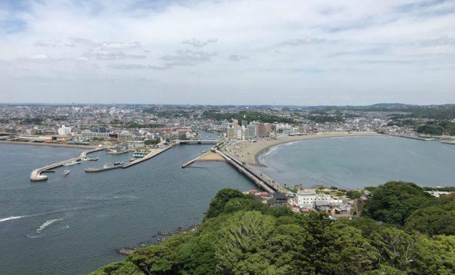 江ノ島塔から