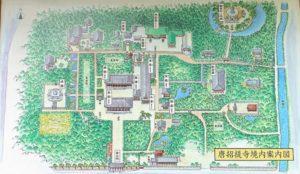 唐招提寺 案内図