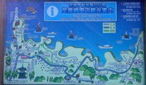 足摺岬周辺観光案内図
