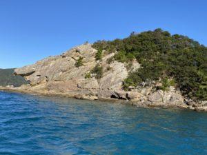 見残し海岸 獅子岩 反対側