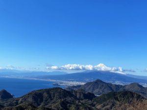 富士山 駿河湾 淡島