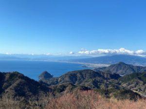 山頂展望台からの眺め