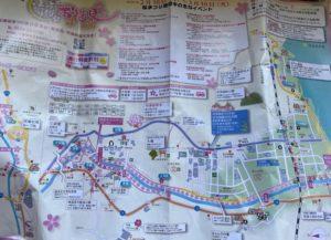 河津桜まつり お花見マップ