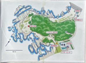 天神島 案内図
