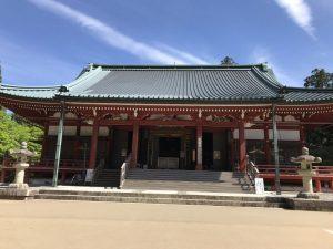 比叡山 大講堂