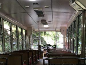 坂本ケーブル・車両内部