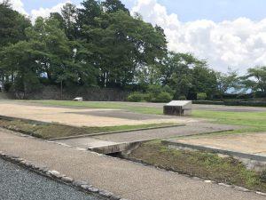 篠山城・二の丸御殿跡