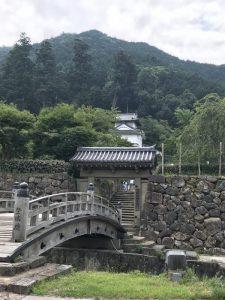 出石城と有子山城址