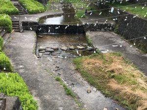 出石城と風鈴
