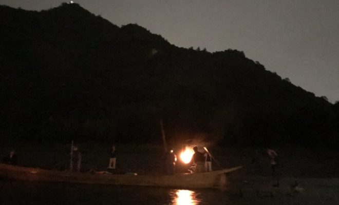 岐阜城と鵜飼