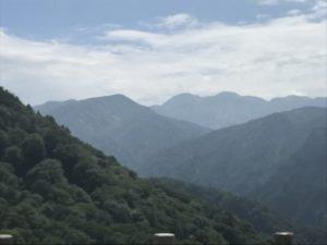 白山展望台 白山