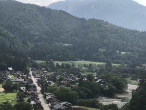 白川郷の景色