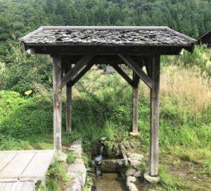 白川郷 水場