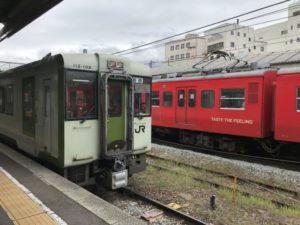小諸駅・在来線としなの鉄道